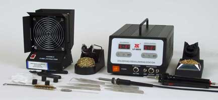 Xytronic LF-8800K Lead-Free Digital Soldering and Desoldering Station