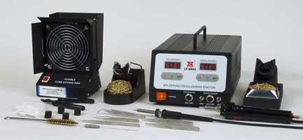 Xytronic LF-8800K Lead-Free Digital Soldering and Desoldering Station