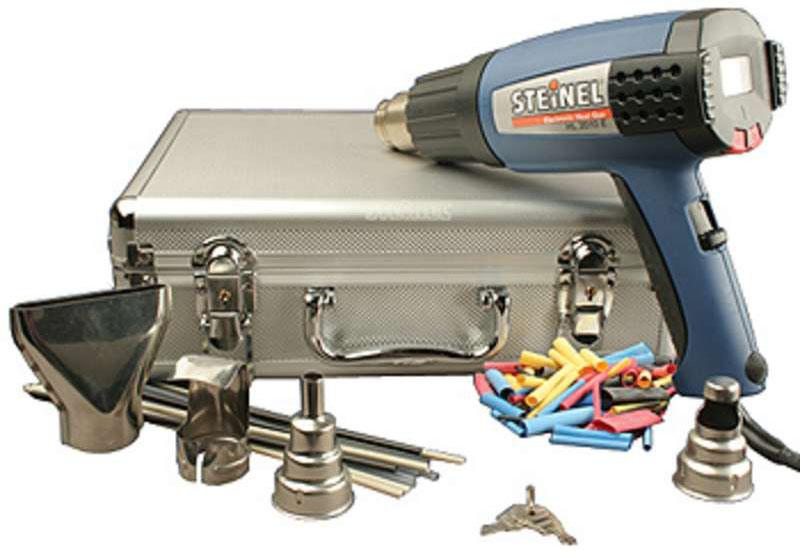 Steinel Silver Anniversary Heat Gun Kit